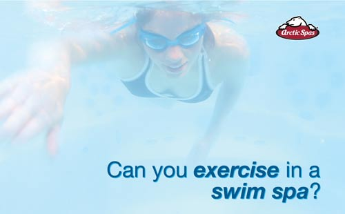 can you exercise in a swim spa?